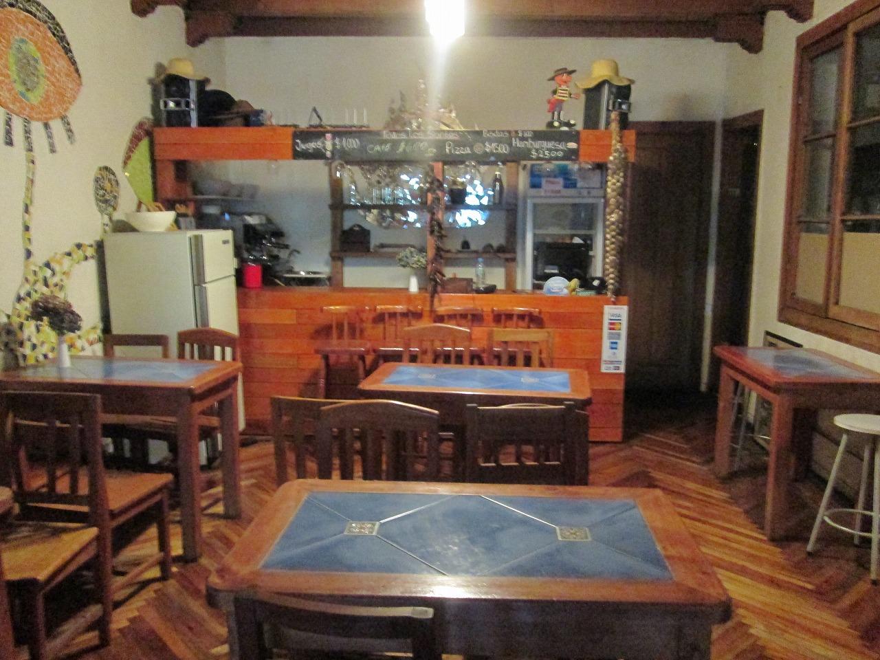 Hostel in Santiago,Chile(Cerro Santa Lucia).チリのサンティアゴ、Cerro Santa Lucia.