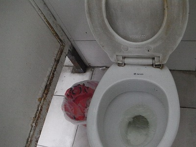 アルゼンチン、コルドバのトイレ